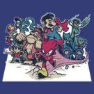 Super Justice Bros. by teevstee