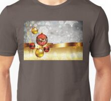 Grey Background with Colorful Balls Unisex T-Shirt