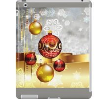 Grey Background with Colorful Balls iPad Case/Skin