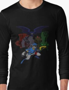 Sly Cooper and The Fiendish Five Long Sleeve T-Shirt