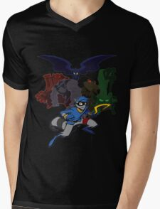 Sly Cooper and The Fiendish Five Mens V-Neck T-Shirt