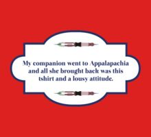 My companion went to Appalapachia  by beetlesque