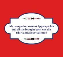 My companion went to Appalapachia  Kids Tee