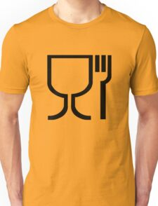 Safe Food Symbol Unisex T-Shirt