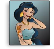 Disney Princesses with attitude - Jasmine Canvas Print