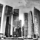 Cityscape Singapore BW by William  Teo Photography