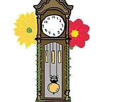 Grandfather Clock by MadisonFindley