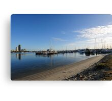 Southport Yacht Club. Gold Coast, Queensland, Australia Canvas Print