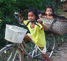Taking A Ride In A Basket by KatyF