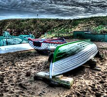 Haven Beach & Boats by Andrew Pounder