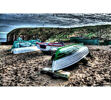 Haven Beach & Boats Photographic Print
