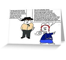 Amish Mafia Greeting Card