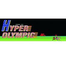 Hyper Olympics Arcade Photographic Print