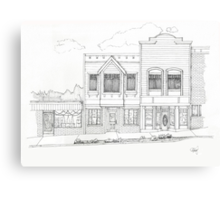 Downtown Abbotsford Canvas Print