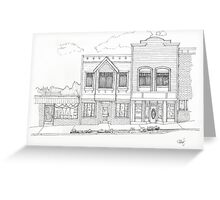 Downtown Abbotsford Greeting Card