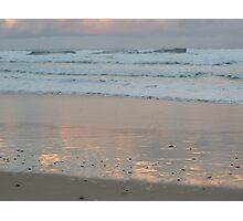 Beach sunset 2 Photographic Print