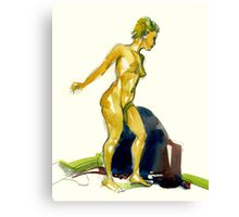 Body Motion Canvas Print
