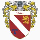 Nunez Coat of Arms/Family Crest by William Martin