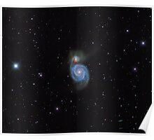 M51 - Whirlpool Galaxy Poster