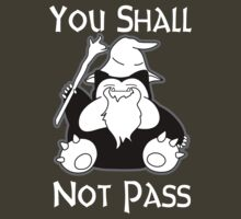Snorlax Gandalf by angrymen