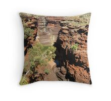 Joffre Gorge  Pilbara  - taken by Sue Throw Pillow