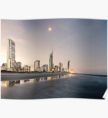 Peace in Surfers Paradise Poster