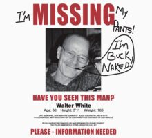 Walter White: Buck Naked by BadReplicant