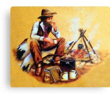 The Swagman Metal Print