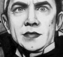 Bela Lugosi as Dracula Sticker
