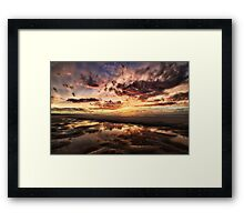 Where Troubles Melt... Framed Print
