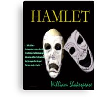 Hamlet Perchance to Dream Canvas Print