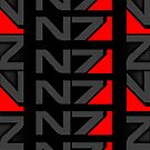 Mass Effect N7 iPhone Case - Black by Techn0v0rus