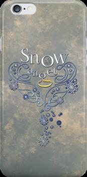 The Wings of a (Thomas J.) Snow Angel by immortaljaye