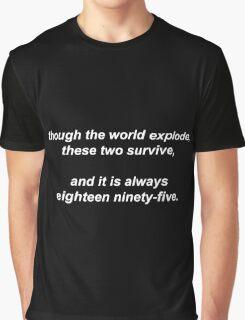 221B by Vincent Starett (white) Graphic T-Shirt