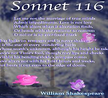 Shakespeare Sonnet 116--Love's not Time's fool... by KayeDreamsART