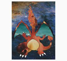 Space Pokemon #006 Charizard by moonprincess70