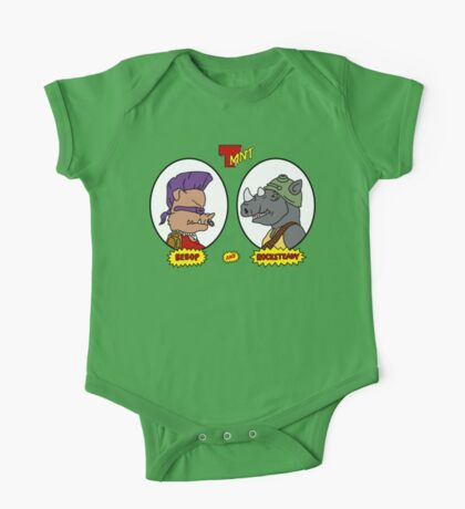 Bebop and Rocksteady One Piece - Short Sleeve