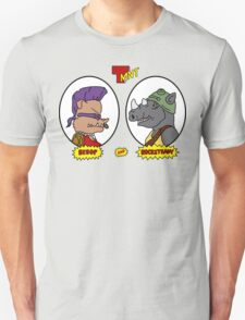 Bebop and Rocksteady Unisex T-Shirt
