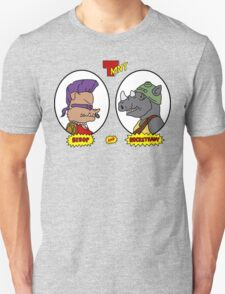 Bebop and Rocksteady T-Shirt