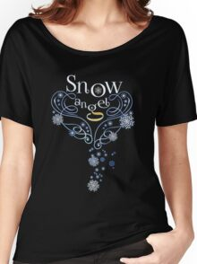 The Wings of a (Thomas J.) Snow Angel Women's Relaxed Fit T-Shirt