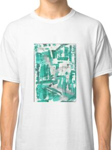 Minty Day - Original Abstract Painting Classic T-Shirt
