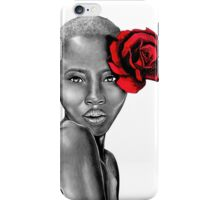 Uzuri ~ Red iPhone Case/Skin