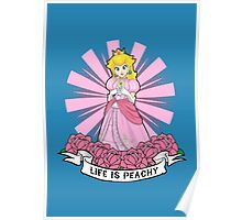 Life Is Peachy Poster