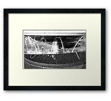 Pool of Rememberance Framed Print