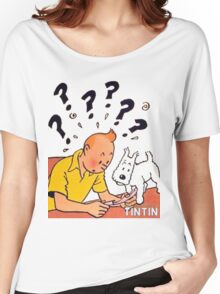 tintin adventures Women's Relaxed Fit T-Shirt