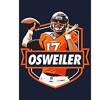 Brock Osweiler - Denver Broncos Photographic Print