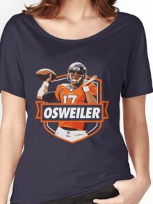 Brock Osweiler - Denver Broncos Women's Relaxed Fit T-Shirt