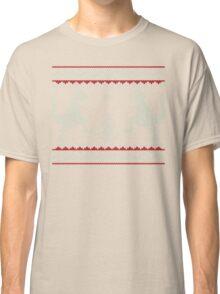 Ugly Christmas Dinosaurs Classic T-Shirt