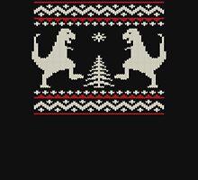 Ugly Christmas Dinosaurs Unisex T-Shirt