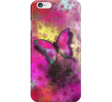 Phone case - Pink butterfly iPhone Case/Skin